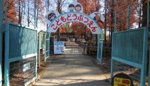 浦和美園の動物園「こども動物園(大崎公園内)」無料で動物に触れることができる人気スポット