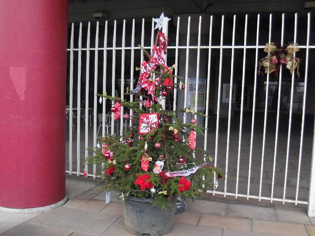 埼玉スタジアム クリスマスツリー