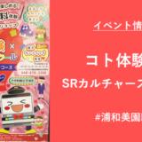コト体験×SRカルチャースクール