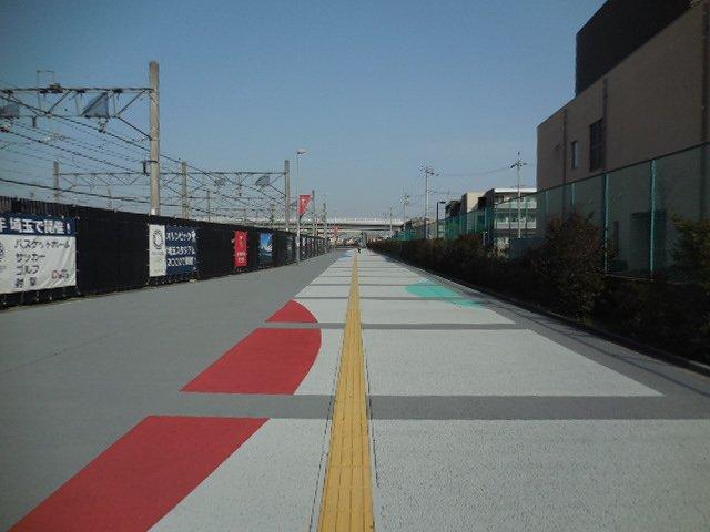 歩行者専用道路・路面舗装工事