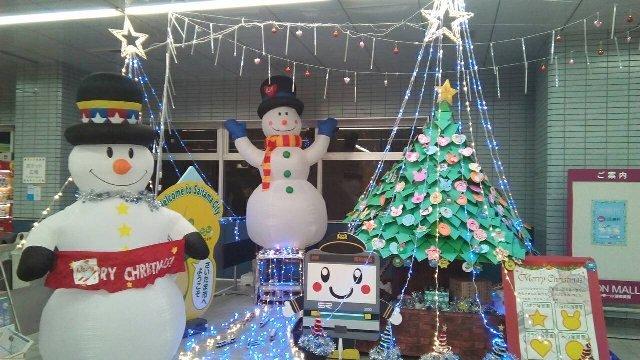 浦和美園駅 クリスマス2017
