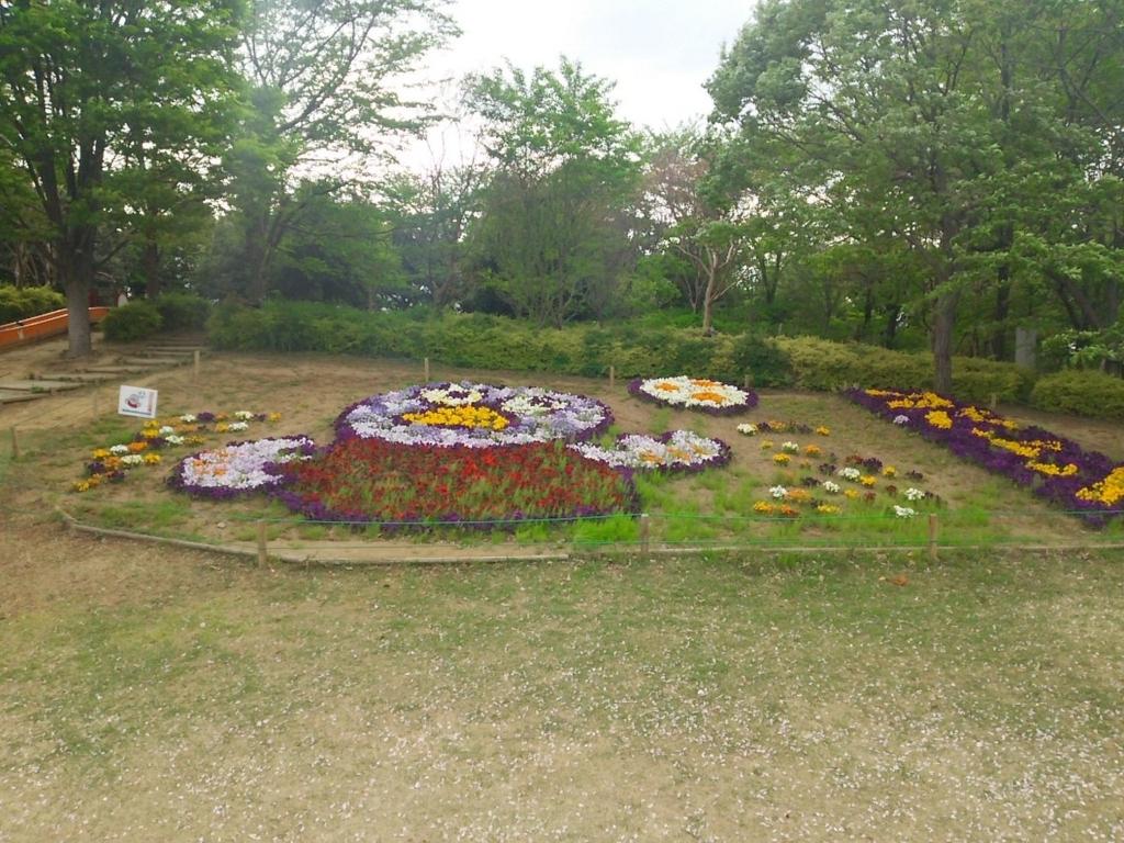 埼玉スタジアム2002公園 コバトン花壇
