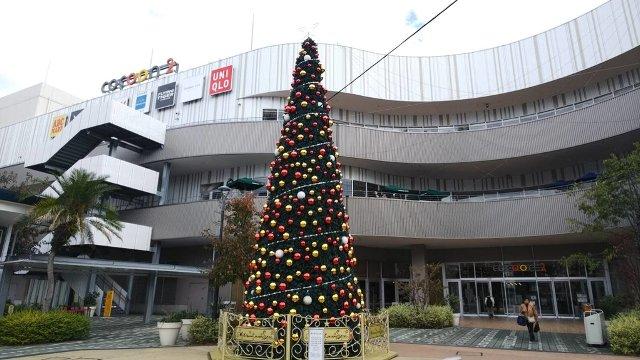 コクーンシティ さいたま新都心 クリスマスツリー