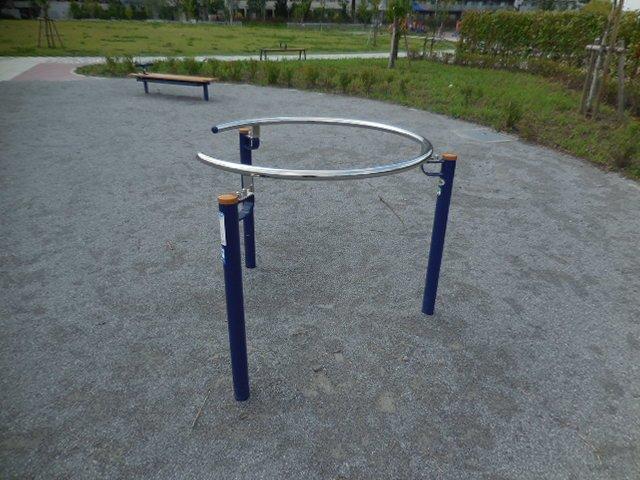 浦和美園4丁目公園 健康器具