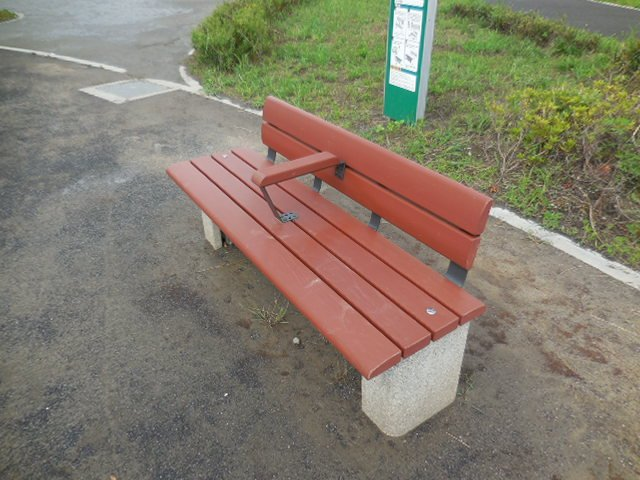浦和美園4丁目公園 かまどベンチ