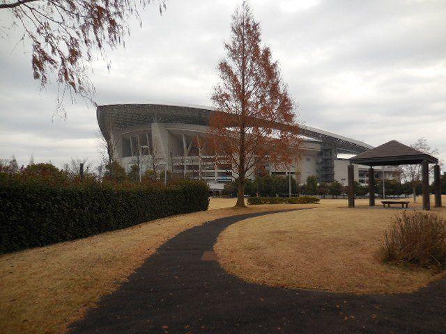 埼玉スタジアム2002公園 ジョギングコース