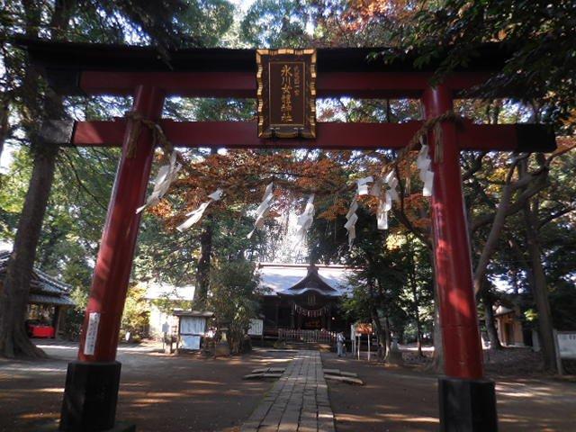 氷川女体神社 さいたま市 東浦和