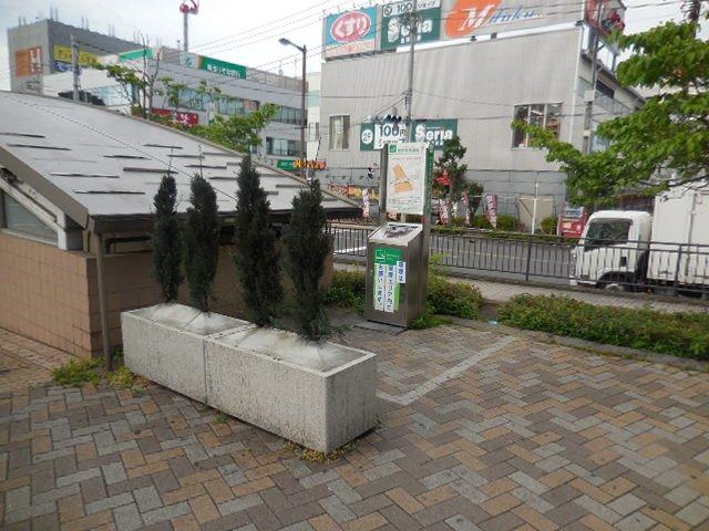 埼玉高速鉄道 東川口駅 喫煙所