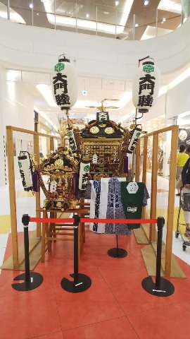 大門八坂神社例祭 御神輿