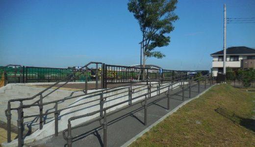 美園東二丁目第1公園|綾瀬川沿いにある公園