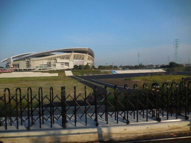 調整池の多目的広場整備 埼玉スタジアム