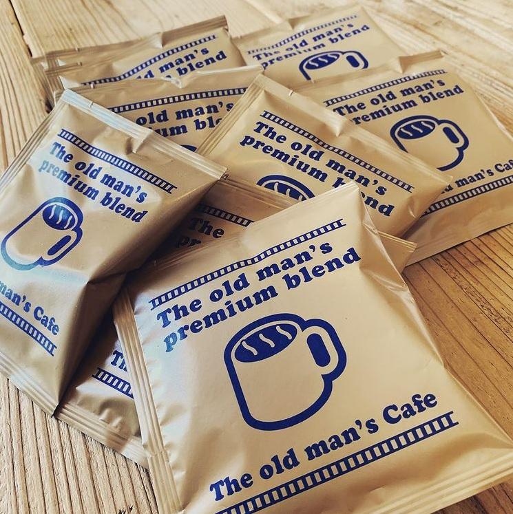 オールドマンズカフェ コーヒーバッグ販売