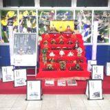 浦和美園駅|ひな人形が登場・園児の作ったひな人形も展示中