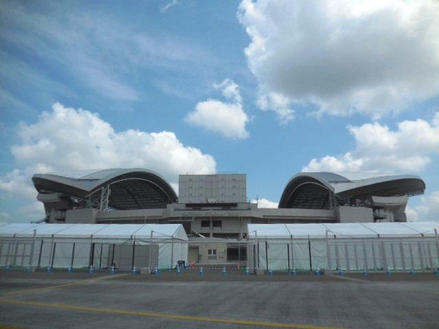 埼玉スタジアム2002 東京オリンピック 南門